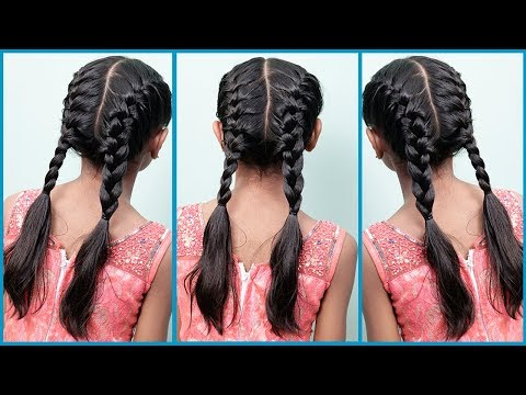 Latest Hairstyles for Parties | Easy and Cute Hairstyle for Summer | Latest Baby Hairstyles