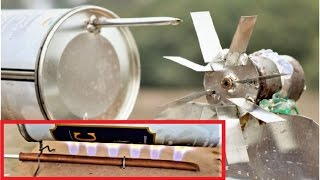How to Make Gas & Steam Powered mini Electric Generator