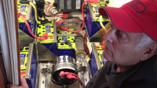 Diesel to Electric Sailboat Re-Power, Part One: Installation