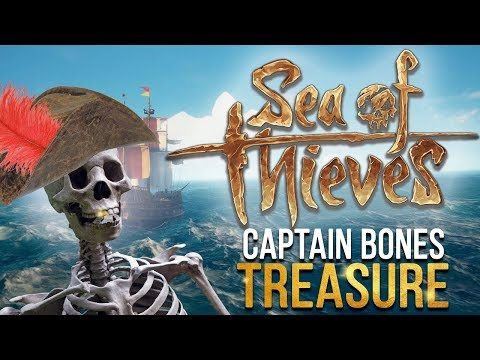 Sea of Thieves! - Captain Bone's Treasure (Sea of Thieves Closed Beta)