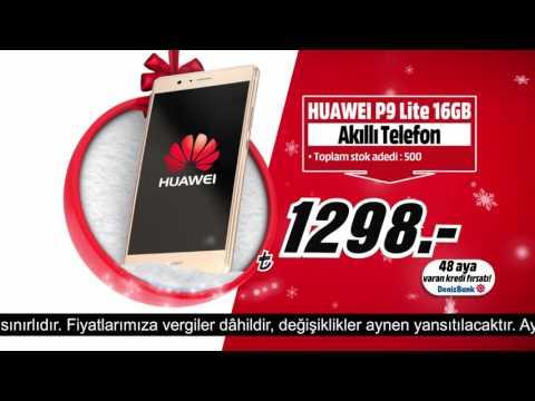 Huawei P9 Yeni Yıla Özel Fırsatlarla Media Markt'ta!