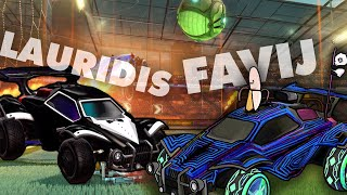 PARTITA INCREDIBILE!!! (Ranked 2v2 w/Lauridis) - Rocket League