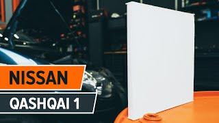 Cum schimbare Filtru habitaclu NISSAN QASHQAI / QASHQAI +2 (J10, JJ10) - tutoriale video