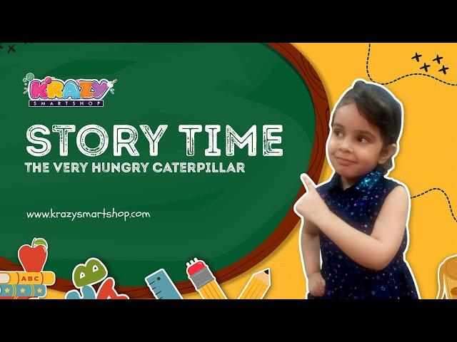 The Very Hungry Caterpillar - By Eric Carle   Reading Practice  Level 1  द वैरी  हंगरी  कैटरपिलर