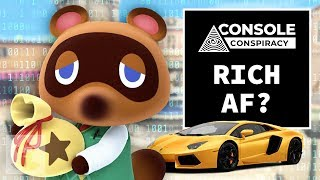 How Rich IS Tom Nook?! - Animal Crossing Console Conspiracy | The Leaderboard