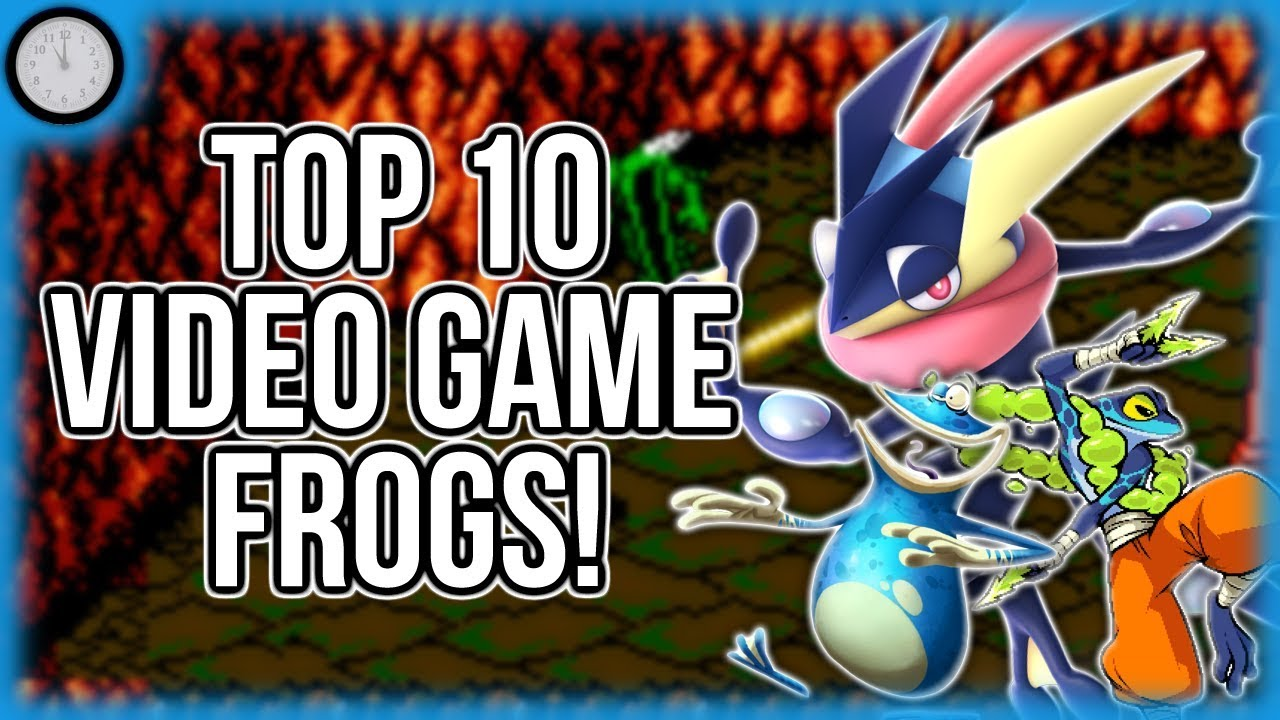 TOP 10 VIDEO GAME FROGS! | CountZone