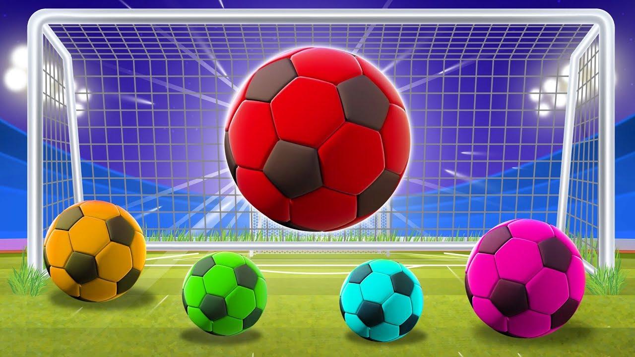 Мячики: Развивающие детские мультики   Учим цвета - YouTube