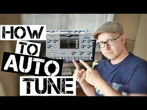 How To Use AutoTune For Tuning Your Voice/Vocals (Tutorial)