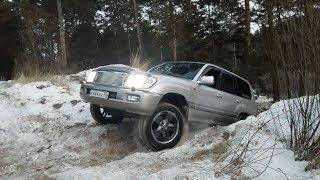 Land Cruiser 100 & Lexus LX470. Стоковые авто на бездорожье. OffRoad...