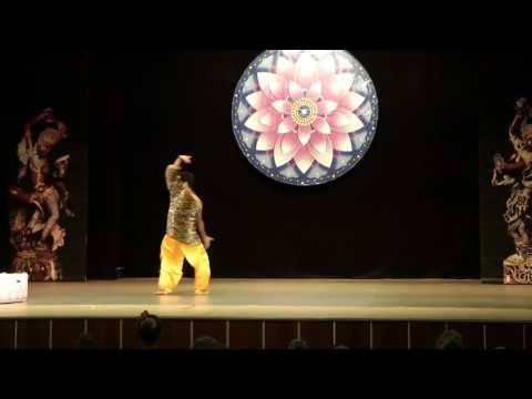 Shiv Tandav Stotram Dance by Nitin Rathi in Moscow