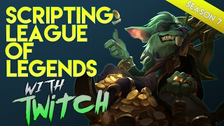 SCRIPTS In Platinum With Twitch 2017 Season 7 : League Of Legends