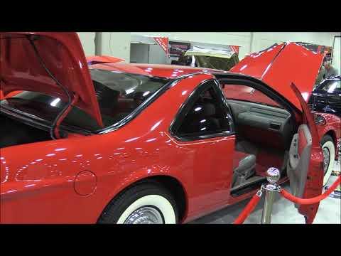 Russ Dentico's 1992 Ford Thunderbird LX 50's Style Custom At The 2018 Detroit Autorama