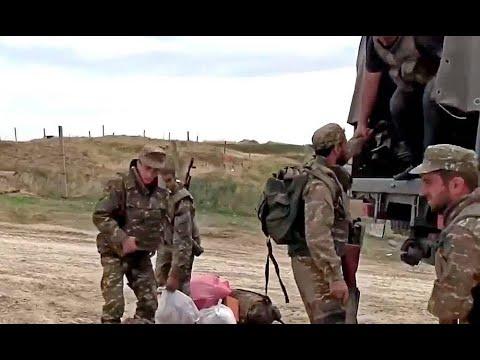 Армяне сняли форму, автобусы там. Азербайджан раскрошил – миротворцы не спасли!