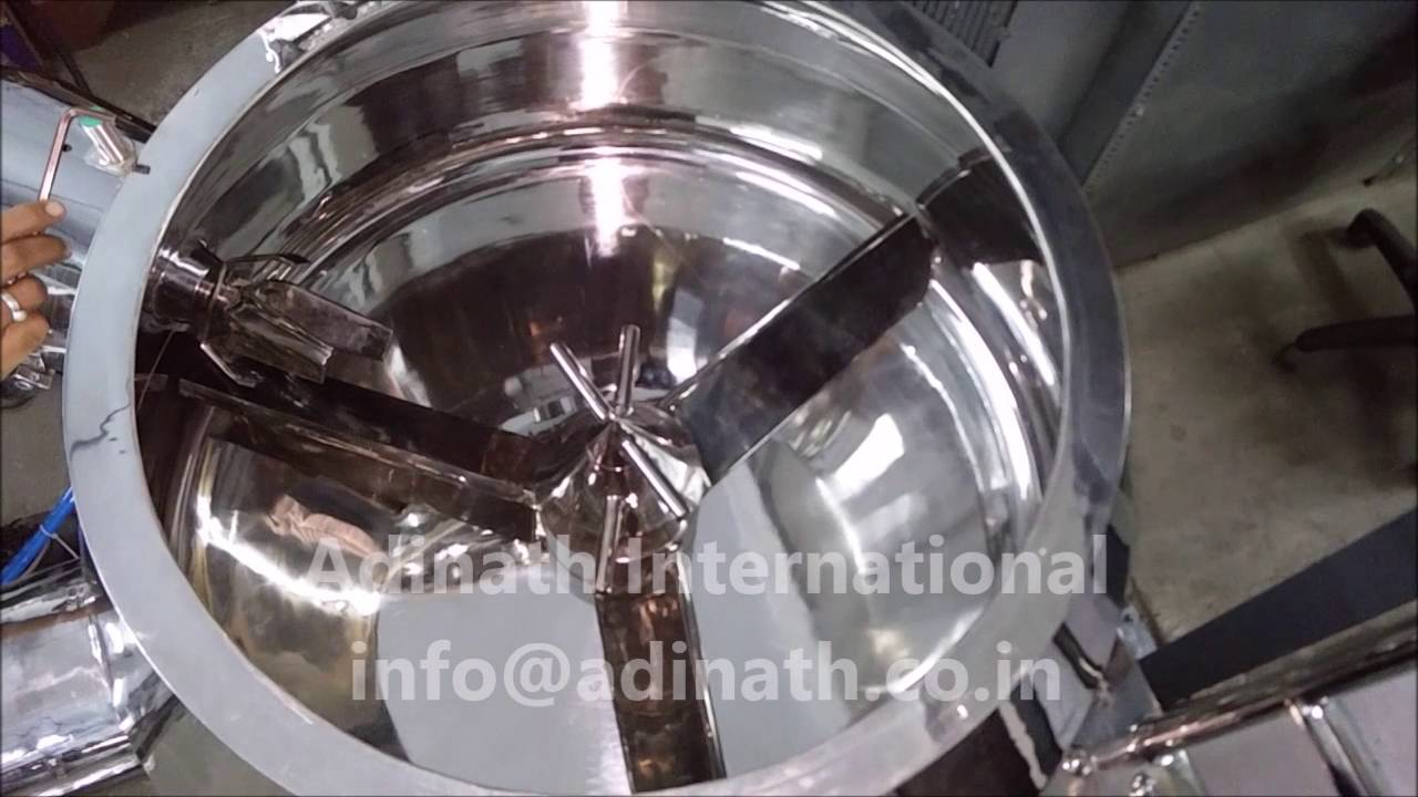 Rapid Mixer Granulator High Shear Mixer Youtube