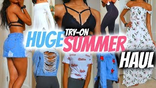 HUGE TRY-ON SPRING/SUMMER HAUL 2017! | Shein & Yogaclub • Lawenwoss