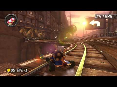 Wii Wario's Gold Mine - 1:55.990 - HD (Mario Kart 8 World Record)