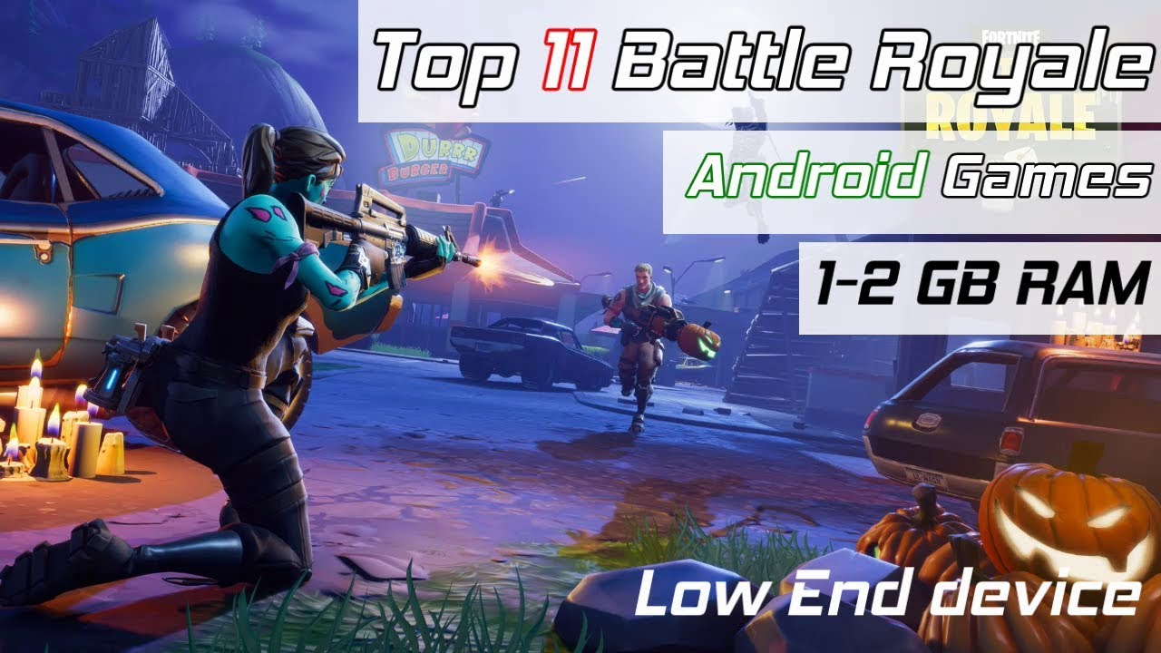 Top 11 Battle Royale Android Games For 1GB , 2GB Ram Mobiles , Phoenix OS ,  Mobile