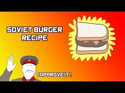 Soviet Burger Recipe