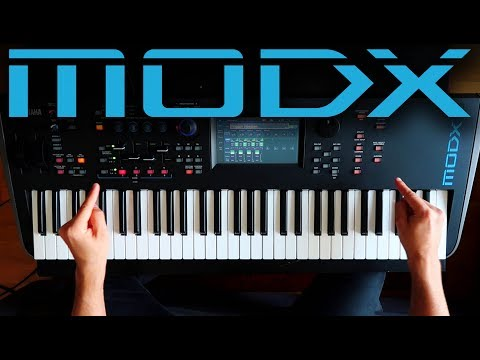 Yamaha MODX First Look/ Sounds- Ask Me Your Questions!