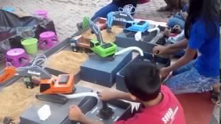 Mainan Anak Hydraulic Excavator ( Alat Berat Pengeruk dan Meratakan Tanah)