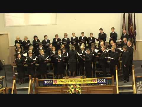 Worthing SA visit of Staines Songster Brigade