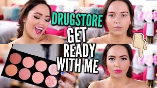 GET READY WITH ME | Full Face Of Drugstore Makeup!