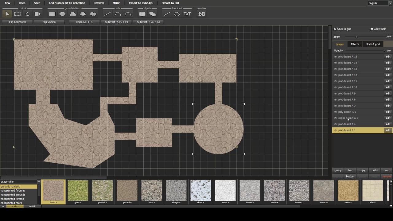 Dungeon Painter Studio - Quick dungeons using UNION