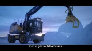 Ishotellet - Building Tomorrow med Volvo Construction Equipment