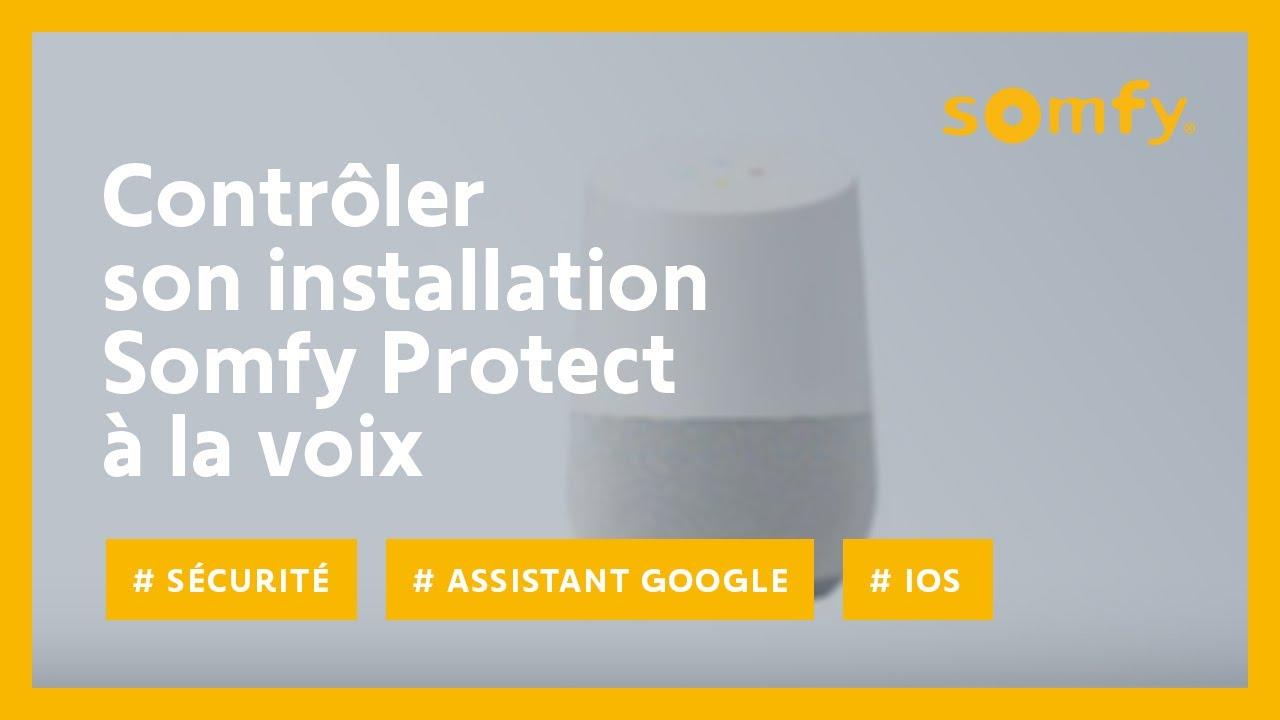 Comment Controler Son Installation Somfy Protect Avec L Assistant