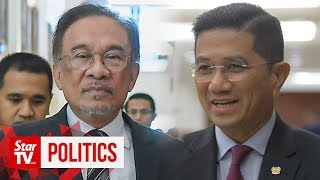 Anwar: Azmin will be told to explain himself