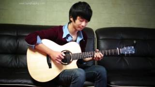 Maroon 5 She Will Be Loved -  the best cover Sungha Jung