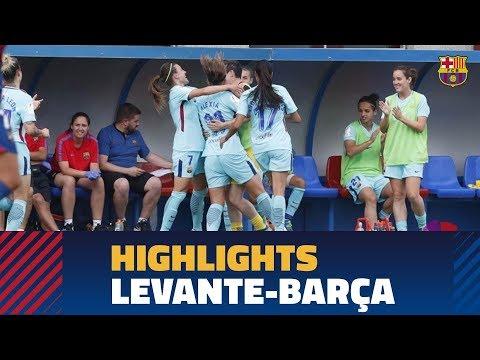 [HIGHLIGHTS] COPA DEL REY (FEM): Llevant – FC Barcelona (0-1)