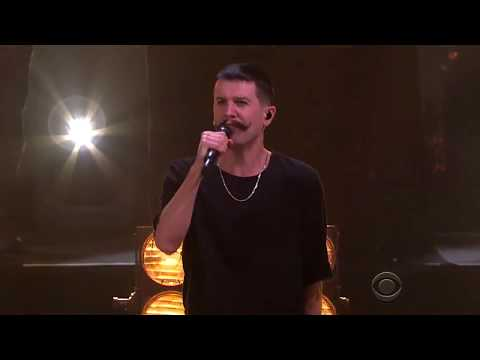 Macklemore and Eric Nally in Late Late Show with James Corden Video