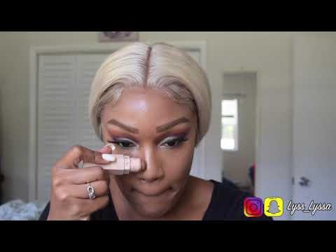 New Blonde Hair Makeup Tutorial | James Charles palette thumbnail