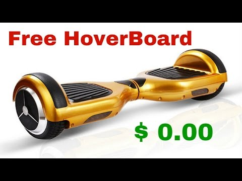 How Much Is A Hoverboard >> How To Get A Hoverboard For Free 2017 Us Only Segway