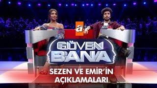 Sezen Aksu ve Emir Özbalak'ın yarışma sonrası açıklamaları - Güven Bana