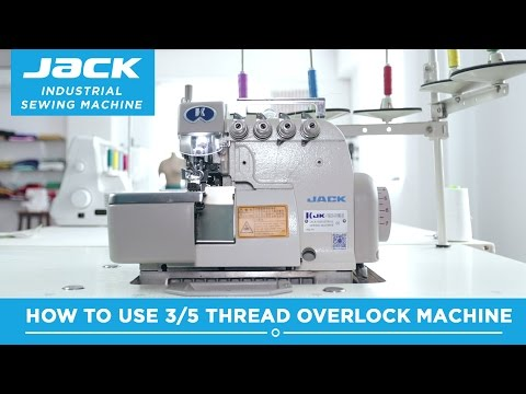 Class 43 - Jack JK768DI 5 thread Industrial Overlock Machine