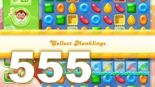 Candy Crush Jelly Saga Level 555 (3 star, No boosters)