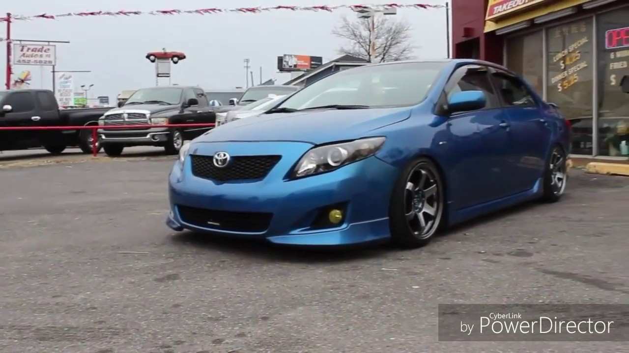 Toyota Corolla 10th Generation 2010 Corolla Modified Cool Riders