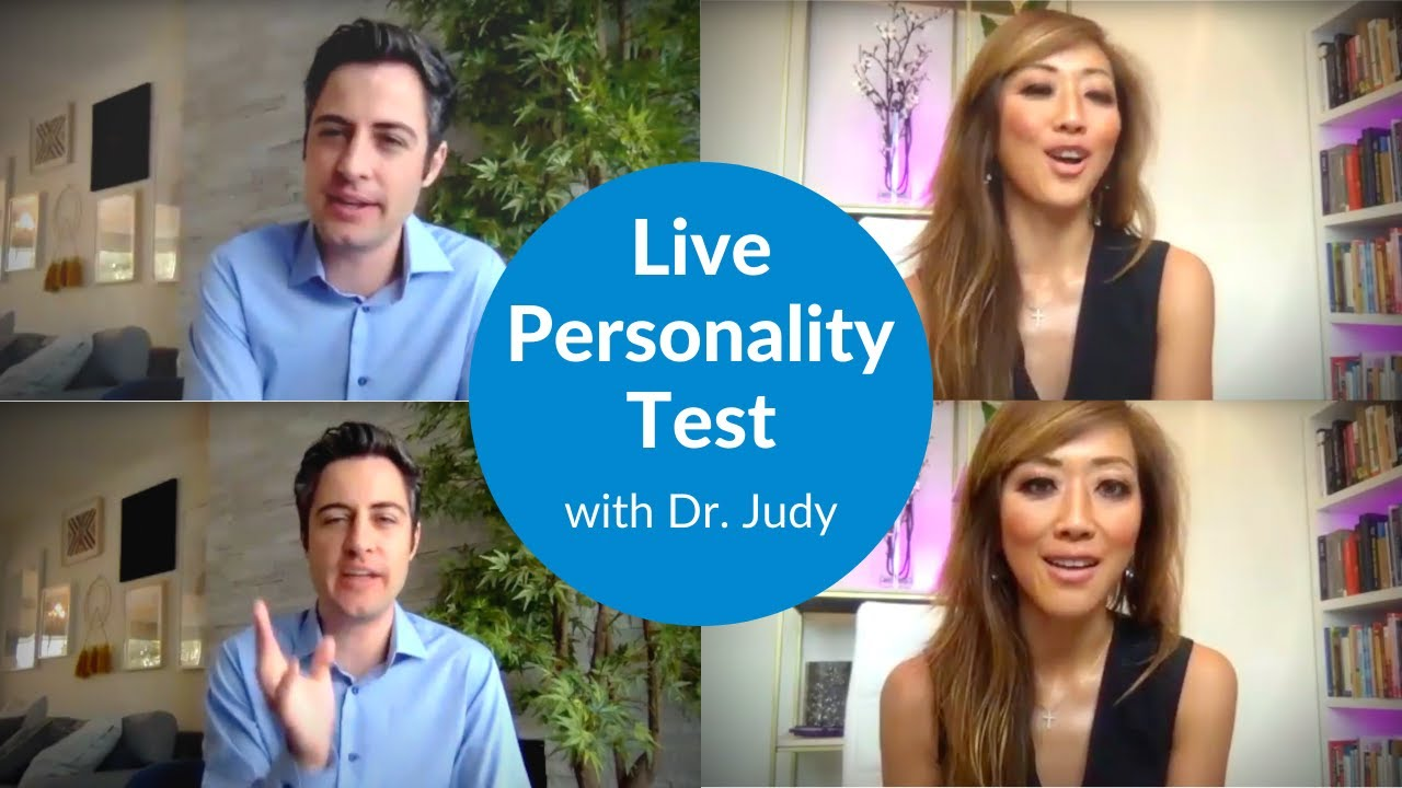 Taking a Personality Test with Psychologist Dr. Judy [WITH ME Series Part 3]