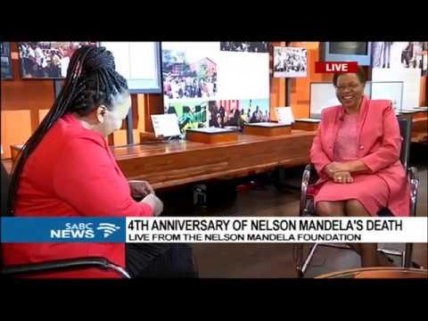 Graça Machel remembers Madiba 4 years on