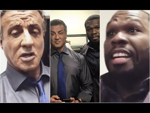 Sylvester Stallone Calls 50 Cent A Criminal After Meeting Him For The First Time #AllUrbanCentral