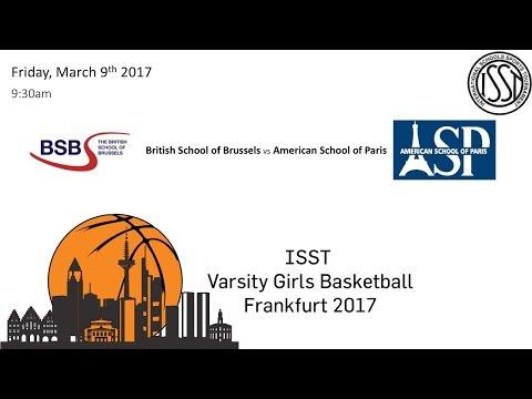 ISST Varsity Girls Basketball: BSB vs ASP