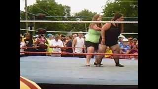 Midget Wrestling on The Ragbrai