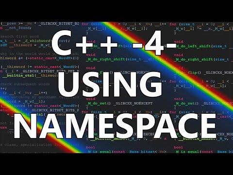 Smikket's C++ Tutorial 4 - using namespace std;