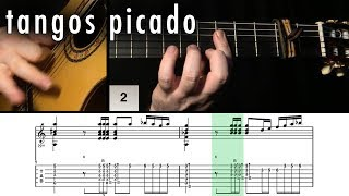 Flamenco Guitar 102 - 12 Tangos Picado