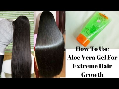 0f5aafa265f How To Use Aloe Vera Gel For Extreme Hair Growth | Cures Baldness, Hair  Fall and Dandruff - YouTube