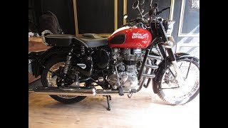 First full detail review of classic 350 redditch red with ABS