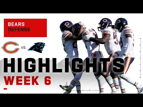 Bears Defensive Highlights vs. Panthers | NFL 2020