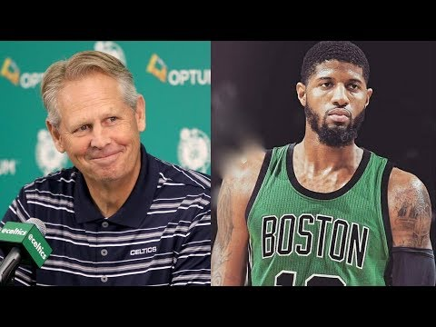 Celtics New Strategy for Paul George! Danny Excuses Ainge